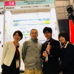 東高・猪股先生、指導した福井毅氏(高31回)と両君