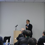 松井氏(高30回)2月21日 京大・丸の内交流会
