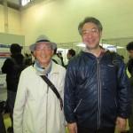 川勝和哉先生と筆者