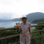 本栖湖にて 30.5.30